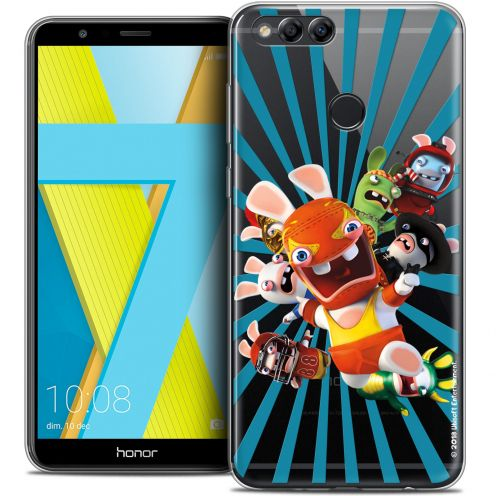 "Coque Gel Honor 7X (5.9"") Extra Fine Lapins Crétins™ - Super Heros"