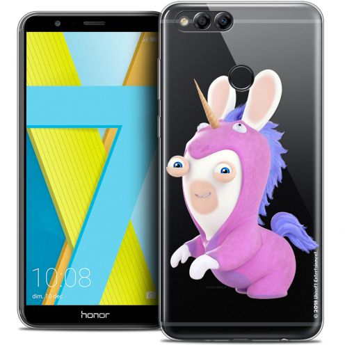 """Coque Gel Honor 7X (5.9"""") Extra Fine Lapins Crétins™ - Licorne"""
