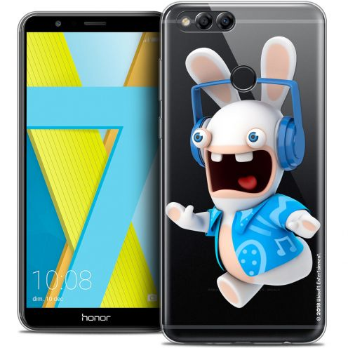"""Coque Gel Honor 7X (5.9"""") Extra Fine Lapins Crétins™ - Techno Lapin"""