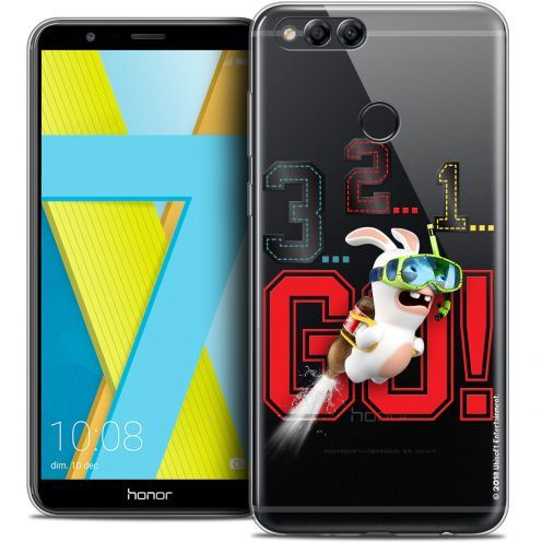 """Coque Gel Honor 7X (5.9"""") Extra Fine Lapins Crétins™ - 321 Go !"""