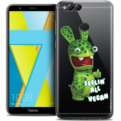 "Coque Gel Honor 7X (5.9"") Extra Fine Lapins Crétins™ - Vegan"