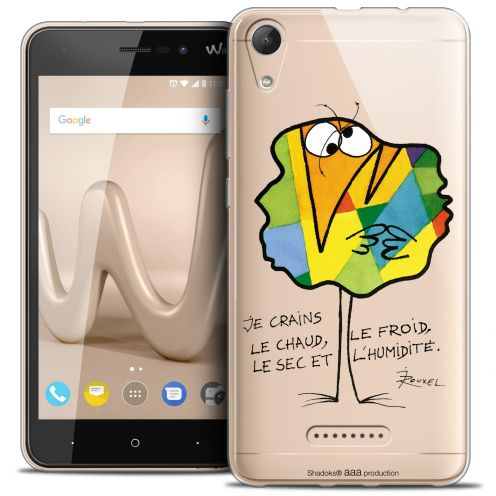 "Coque Gel Wiko Lenny 4 (5"") Extra Fine Les Shadoks® - Chaud ou Froid"