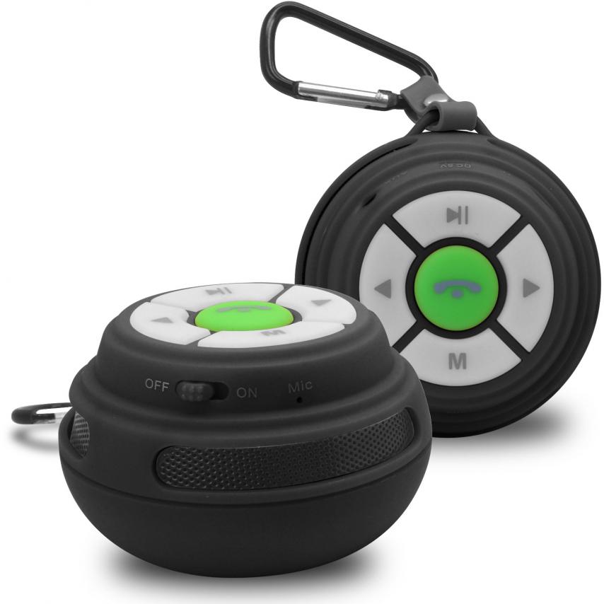 Vue Principale de Enceinte Bluetooth Ultimate SoundBall 3W USB/Micro SD/Jack & Mains libres noire
