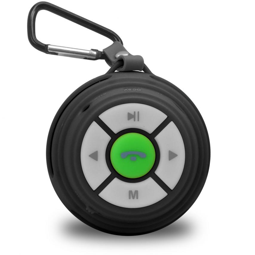 Zoom sur Enceinte Bluetooth Ultimate SoundBall 3W USB/Micro SD/Jack & Mains libres noire