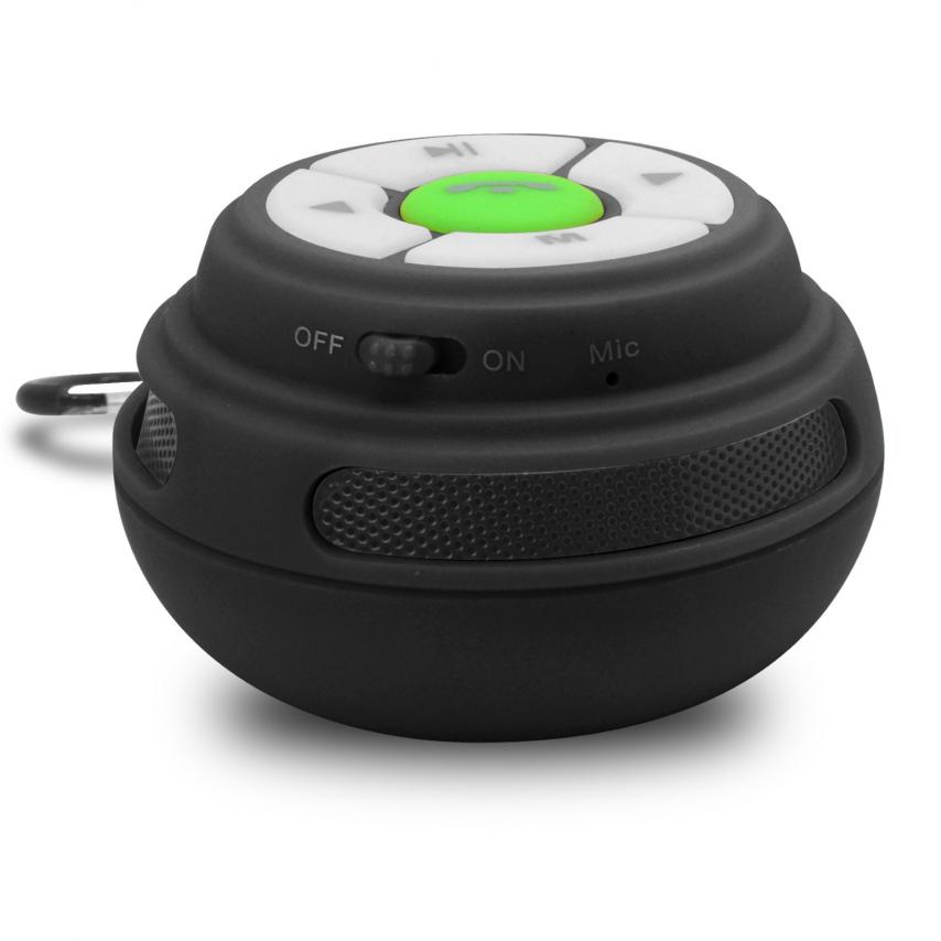 Visuel unique de Enceinte Bluetooth Ultimate SoundBall 3W USB/Micro SD/Jack & Mains libres noire