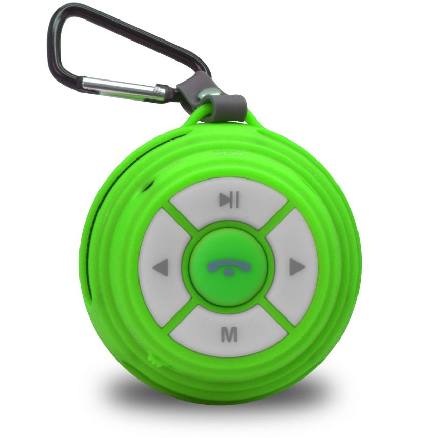 Zoom sur Enceinte Bluetooth Ultimate SoundBall 3W USB/Micro SD/Jack & Mains libres verte