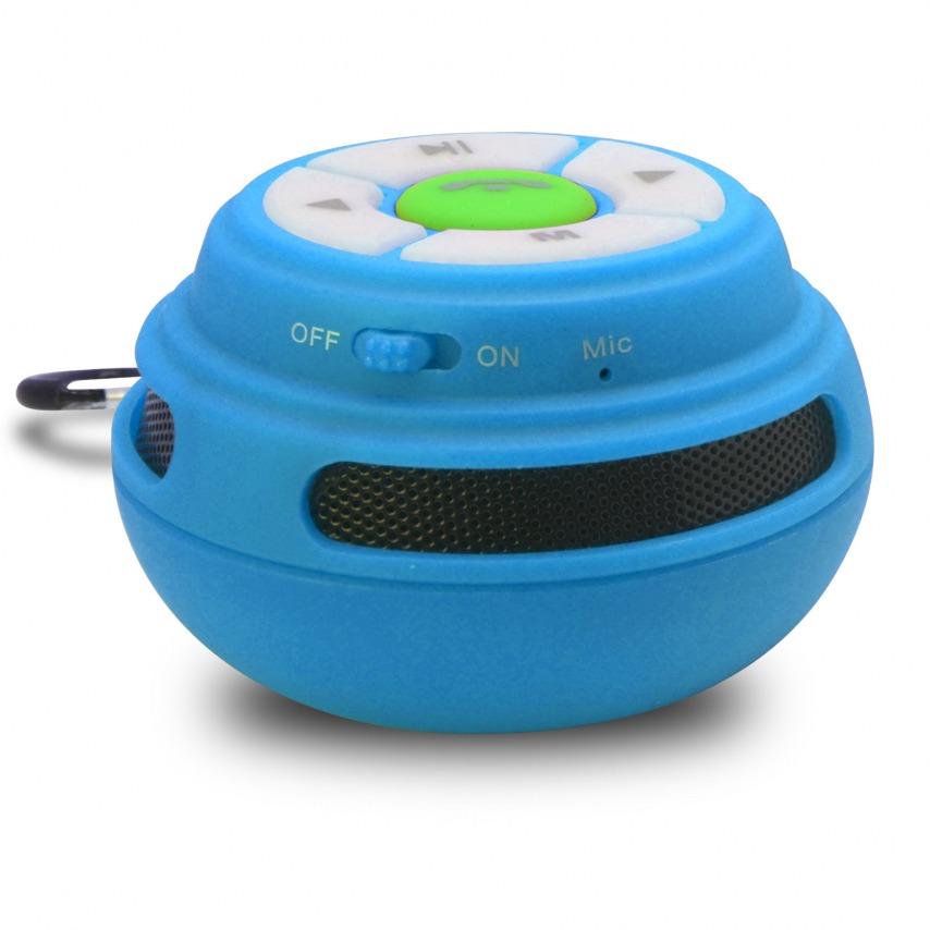 Visuel unique de Enceinte Bluetooth Ultimate SoundBall 3W USB/Micro SD/Jack & Mains libres bleue