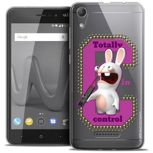 """Coque Gel Wiko Lenny 4 (5"""") Extra Fine Lapins Crétins™ - In Control !"""