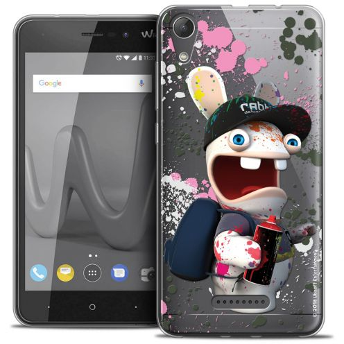 """Coque Gel Wiko Lenny 4 (5"""") Extra Fine Lapins Crétins™ - Painter"""