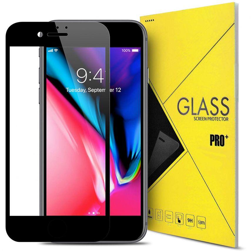 """Protection d'écran Verre trempé Apple iPhone 7/8 PLUS (5.5"""") 5D Hybrid Full Glue Noir 0.33mm 2.5D"""