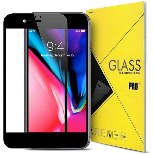 """Protection d'écran Verre trempé Apple iPhone 7/8 (4.7"""") 5D Hybrid Full Glue Noir 0.33mm 2.5D"""