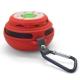 Vue détaillée de Enceinte Bluetooth Ultimate SoundBall 3W USB/Micro SD/Jack & Mains libres rouge