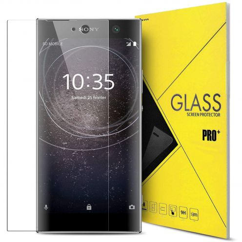 "Protection d'écran Verre trempé Sony Xperia XA2 (5.2"") 9H Glass Pro+ HD 0.33mm 2.5D"