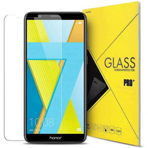"Protection d'écran Verre trempé Honor 7X (5.93"") 9H Glass Pro+ HD 0.33mm 2.5D"