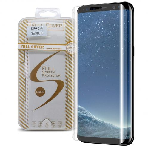 Protection d'écran Verre trempé Samsung Galaxy S8 (G950) Full Cover Ultra Clear – 9H HD 0.33mm 2.5D