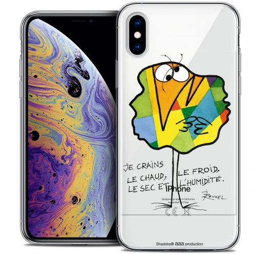 "Coque Gel Apple iPhone Xs Max (6.5"") Extra Fine Les Shadoks® - Chaud ou Froid"