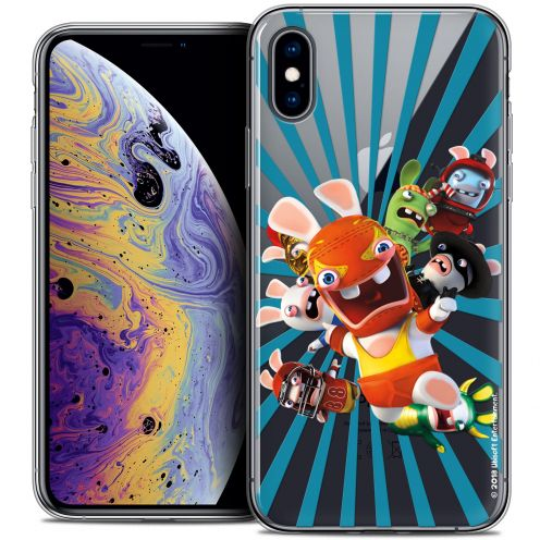 "Coque Gel Apple iPhone Xs Max (6.5"") Extra Fine Lapins Crétins™ - Super Heros"