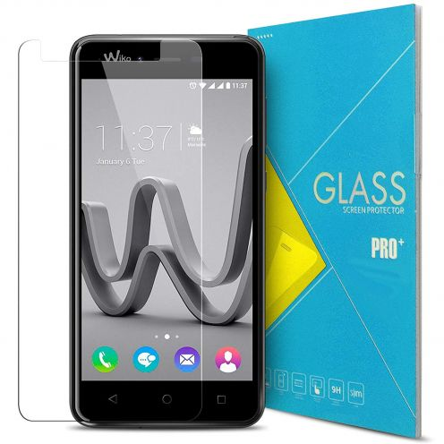 Protection d'écran Verre trempé Wiko Jerry MAX - 9H Glass Pro+ HD 0.33mm 2.5D