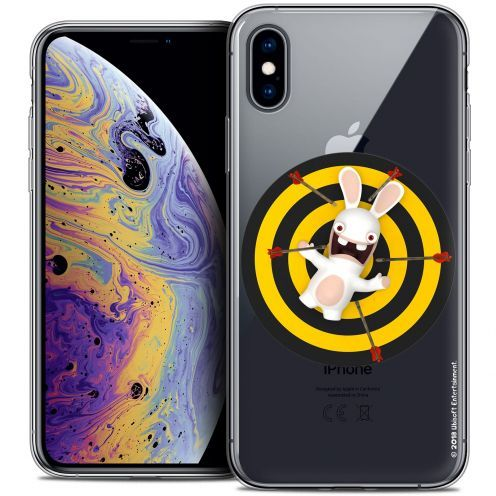 "Coque Gel Apple iPhone Xs Max (6.5"") Extra Fine Lapins Crétins™ - Target"