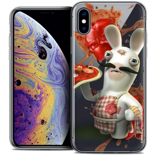 "Coque Gel Apple iPhone Xs Max (6.5"") Extra Fine Lapins Crétins™ - Cuisinier"