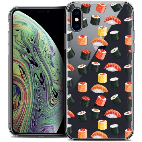 """Coque Crystal Gel Apple iPhone Xs Max (6.5"""") Extra Fine Foodie - Sushi"""