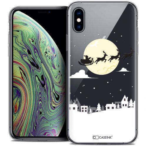 "Coque Crystal Gel Apple iPhone Xs Max (6.5"") Extra Fine Noël 2017 - Flying Stanta"