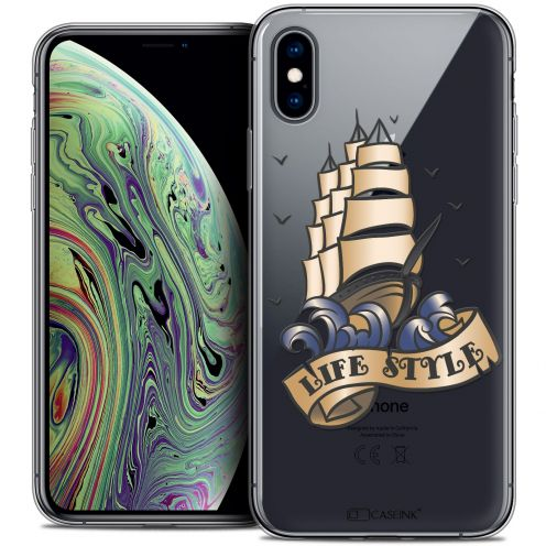 """Coque Crystal Gel Apple iPhone Xs Max (6.5"""") Extra Fine Tatoo Lover - Life Style"""