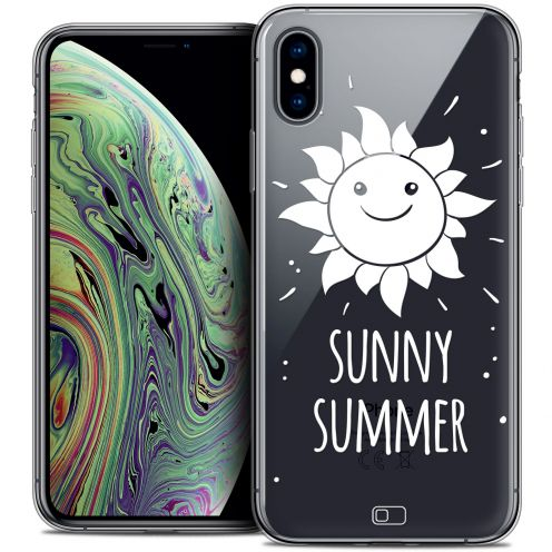 "Coque Crystal Gel Apple iPhone Xs Max (6.5"") Extra Fine Summer - Sunny Summer"