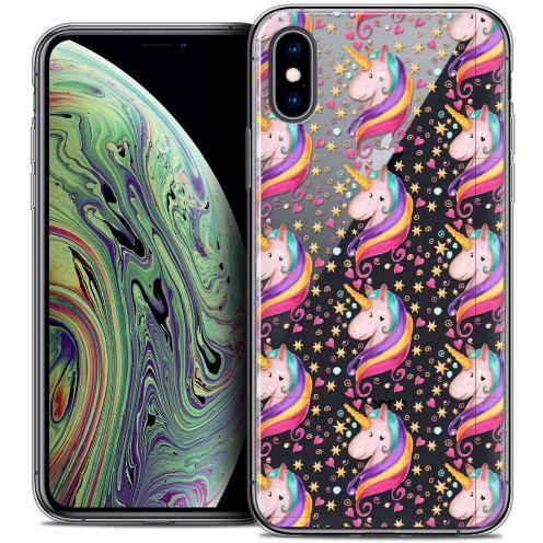 "Coque Crystal Gel Apple iPhone Xs Max (6.5"") Extra Fine Fantasia - Licorne Etoilée"