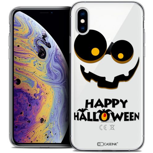 "Coque Crystal Gel Apple iPhone Xs Max (6.5"") Extra Fine Halloween - Happy"