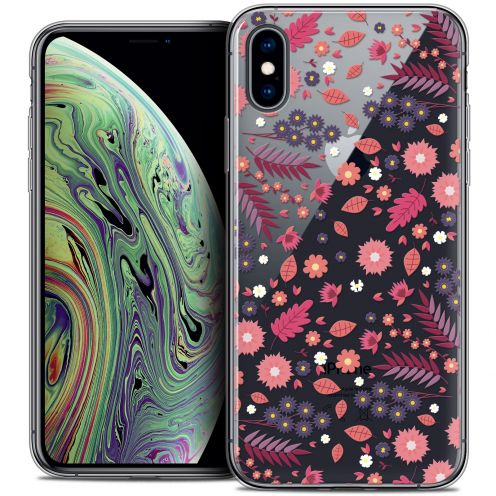 "Coque Crystal Gel Apple iPhone Xs Max (6.5"") Extra Fine Spring - Printemps"
