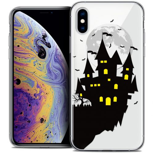"Coque Crystal Gel Apple iPhone Xs Max (6.5"") Extra Fine Halloween - Castle Dream"