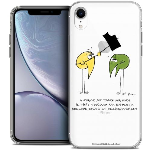 "Coque Gel Apple iPhone Xr (6.1"") Extra Fine Les Shadoks® - A Force"