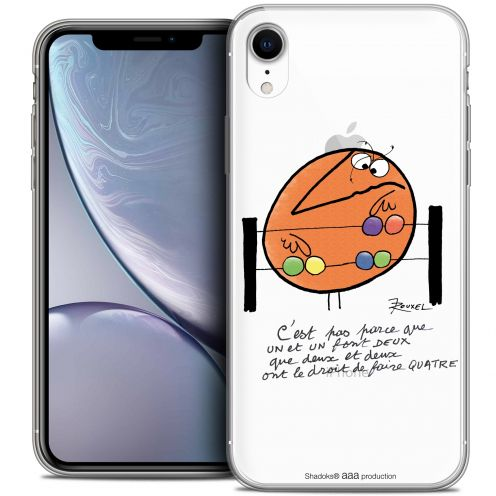 "Coque Gel Apple iPhone Xr (6.1"") Extra Fine Les Shadoks® - Mathématique"