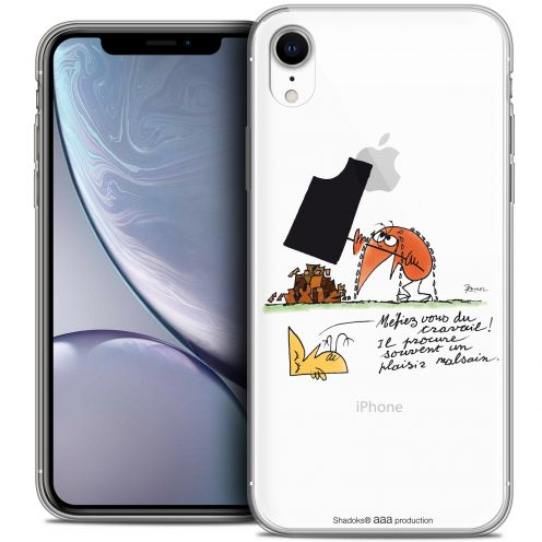 "Coque Gel Apple iPhone Xr (6.1"") Extra Fine Les Shadoks® - Le Travail"