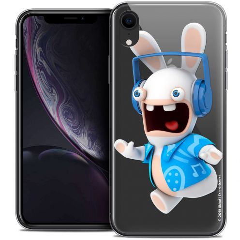 "Coque Gel Apple iPhone Xr (6.1"") Extra Fine Lapins Crétins™ - Techno Lapin"