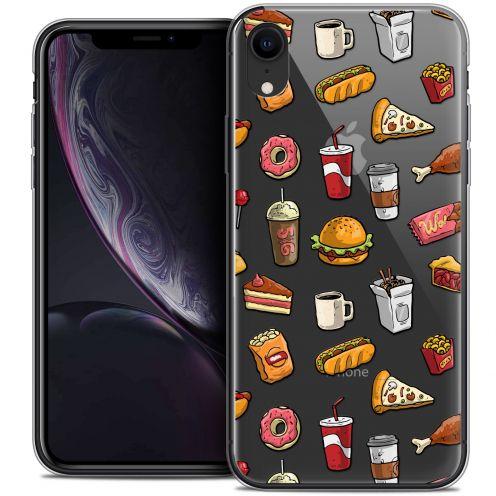 "Coque Crystal Gel Apple iPhone Xr (6.1"") Extra Fine Foodie - Fast Food"