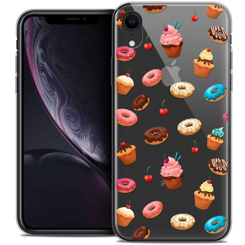 "Coque Crystal Gel Apple iPhone Xr (6.1"") Extra Fine Foodie - Donuts"