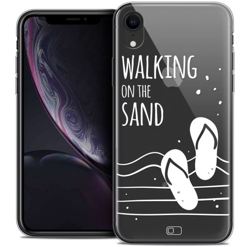 """Coque Crystal Gel Apple iPhone Xr (6.1"""") Extra Fine Summer - Walking on the Sand"""