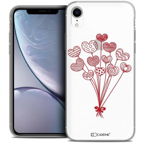 "Coque Crystal Gel Apple iPhone Xr (6.1"") Extra Fine Love - Ballons d'amour"