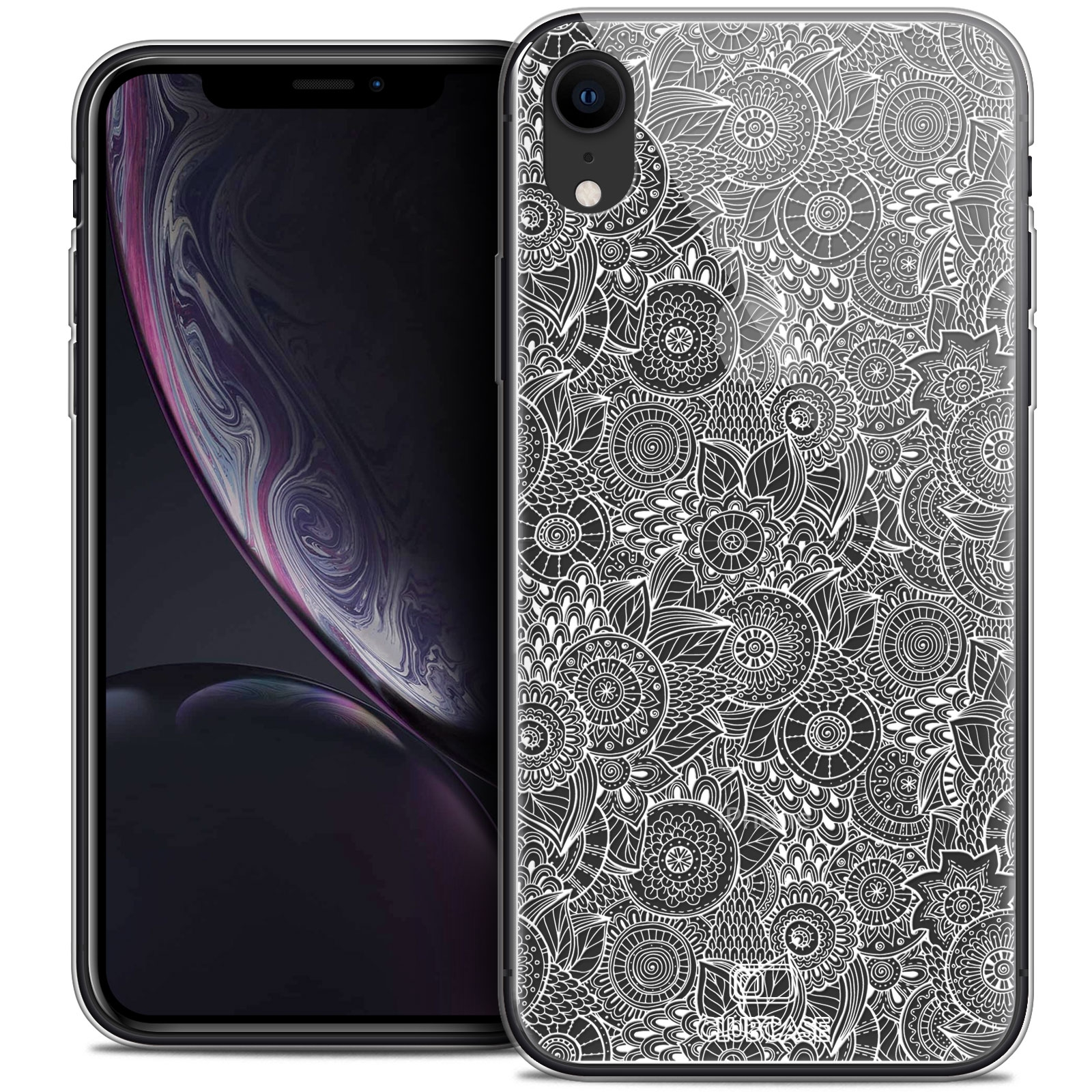 coque iphone xr blanche apple