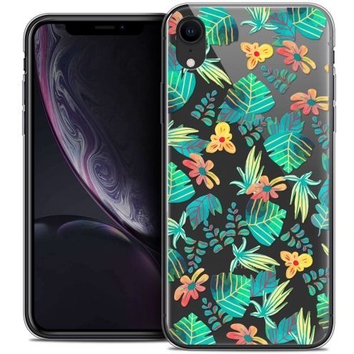 "Coque Crystal Gel Apple iPhone Xr (6.1"") Extra Fine Spring - Tropical"