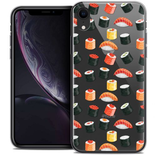 "Coque Crystal Gel Apple iPhone Xr (6.1"") Extra Fine Foodie - Sushi"