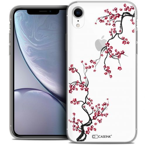 "Coque Crystal Gel Apple iPhone Xr (6.1"") Extra Fine Summer - Sakura"