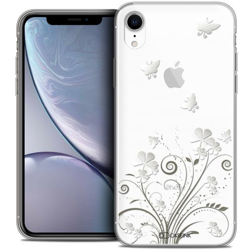 "Coque Crystal Gel Apple iPhone Xr (6.1"") Extra Fine Summer - Papillons"