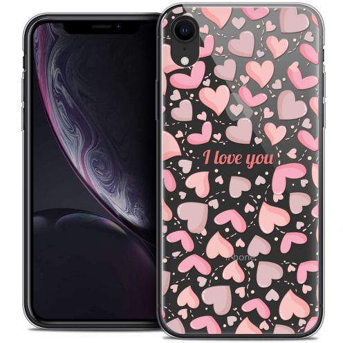 """Coque Crystal Gel Apple iPhone Xr (6.1"""") Extra Fine Love - I Love You"""