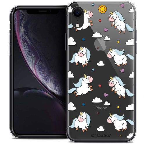 """Coque Crystal Gel Apple iPhone Xr (6.1"""") Extra Fine Fantasia - Licorne In the Sky"""