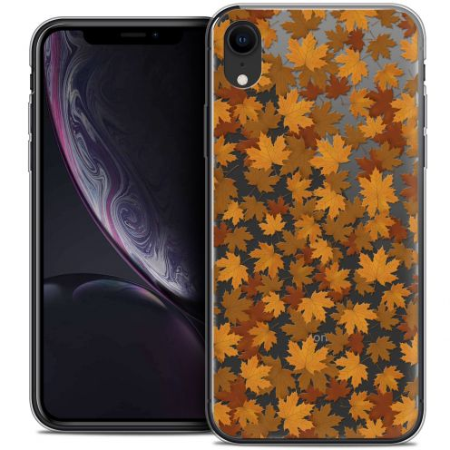 """Coque Crystal Gel Apple iPhone Xr (6.1"""") Extra Fine Autumn 16 - Feuilles"""