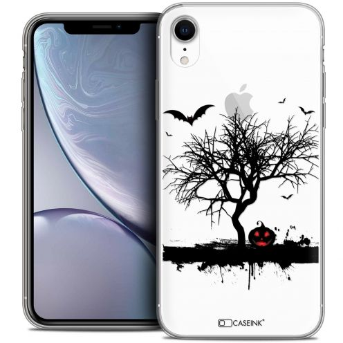 "Coque Crystal Gel Apple iPhone Xr (6.1"") Extra Fine Halloween - Devil's Tree"
