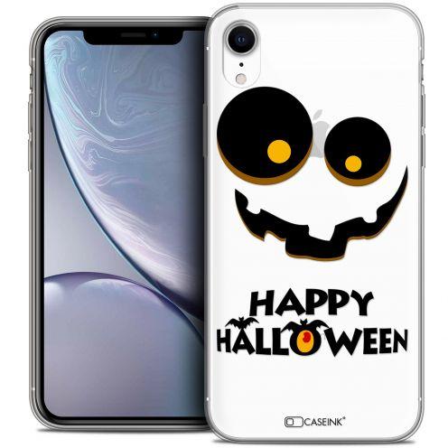 "Coque Crystal Gel Apple iPhone Xr (6.1"") Extra Fine Halloween - Happy"